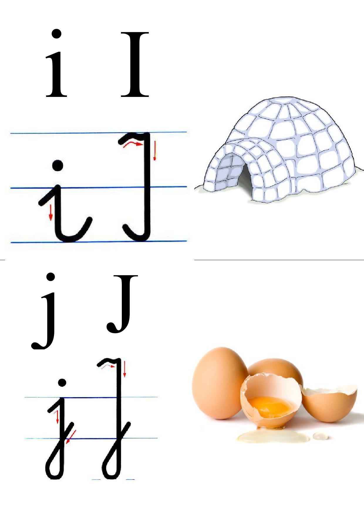 Tablice Edukacyjne Do Druku Alfabet Obrazek