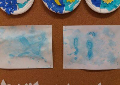 Chmury z baniek mydlanych Dzień Wiatru Dzień Wody Jesień Joanna Lewandowska Lato Prace plastyczne Prace plastyczne (Dzień Wody) Prace plastyczne (Jesień) Wiosna (Prace plastyczne)