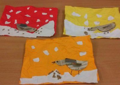 Dokarmiamy ptaki Dzień Ochrony Środowiska Dzień Ziemi Izabela Kowalska Jesień Międzynarodowy Dzień Ptaków Prace plastyczne Prace plastyczne (Dzień Zwierząt) Światowy Dzień Zwierząt Wiosna (Prace plastyczne) Zima (Prace plastyczne) Zwierzęta