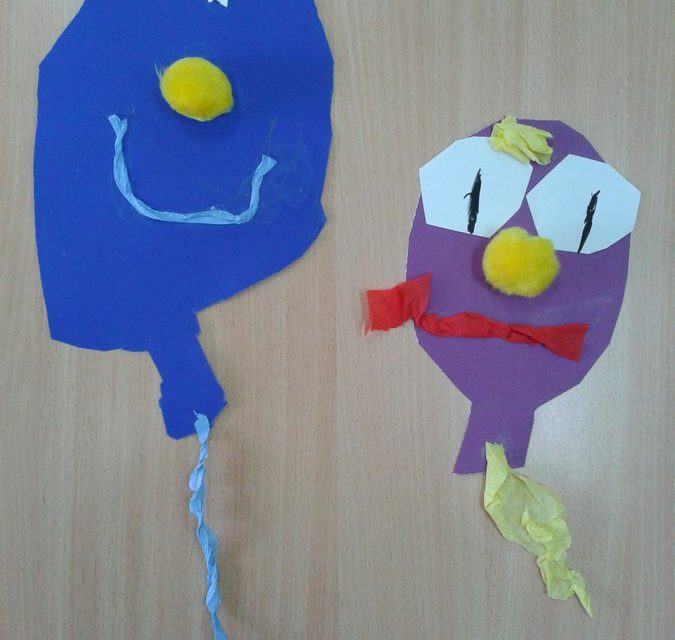 Karnawał – wycinane balony
