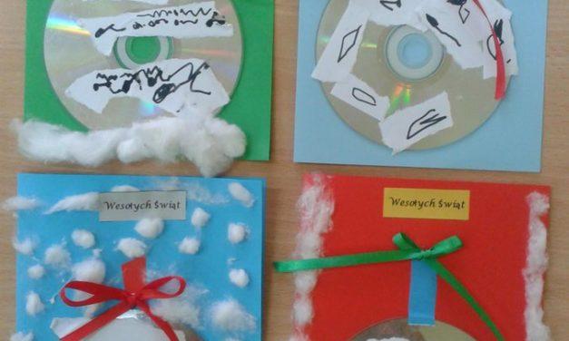 Kartki świąteczne – bombka