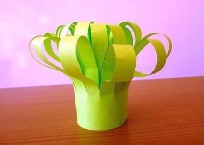 Koszyczek wiosenny Dzień Babci i Dziadka Dzień Matki Dzień Taty Joanna Barszcz Kreatywnie z dzieckiem Prace plastyczne Wielkanoc Wiosna