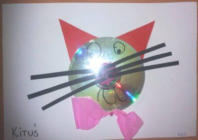 Kot CD Dzień Muzyki Joanna Lewandowska Kreatywnie z dzieckiem Prace plastyczne Światowy Dzień Kota Światowy Dzień Zwierząt Zwierzęta
