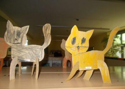 Koty Joanna Chorabik Kreatywnie z dzieckiem Światowy Dzień Kota