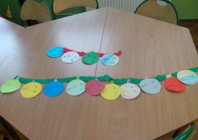 Łańcuch matematyczny (wersja świąteczna) Dzień Matematyki Izabela Kowalska Matematyka Pomoce dydaktyczne Prace plastyczne Zabawy matematyczne (Dzień Matematyki) Zima