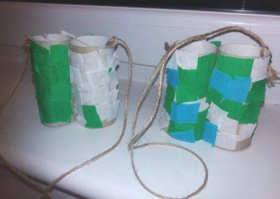 Lornetka z rolki po papierze Dzień Ochrony Środowiska Dzień Ziemi Izabela Kowalska Jesień (Prace plastyczne) Prace plastyczne Prace plastyczne (Dzień Ziemi) Wiosna (Prace plastyczne)