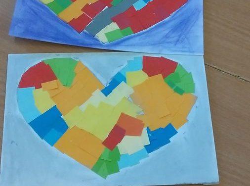 Mozaika – serca