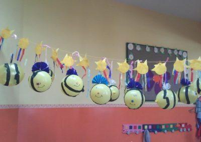 Pszczoły z balona Jesień Karnawał Kreatywnie z dzieckiem Lato Monika Okoń Prace plastyczne Wiosna Zwierzęta