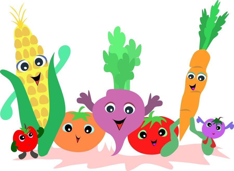 Jesień: warzywa - kolorowanka 1 Jesień Kalendarz świąt Kolorowanki (Jesień) Wrzesień