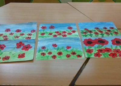 Maki malowane placami za pomocą farb Dzień Matki Dzień Taty Izabela Kowalska Prace plastyczne Prace plastyczne (Dzień Mamy) Prace plastyczne (Dzień Taty) Prace plastyczne (Wiosna) Rośliny Wiosna (Prace plastyczne)