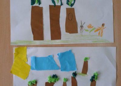 Las - wycinanka Dzień Drzewa Dzień Lasu Dzień Leśnika Dzień Ochrony Środowiska Dzień Ziemi Jesień Jesień (Prace plastyczne) Marlena Wrońska Prace plastyczne Prace plastyczne (Dzień drzewa) Prace plastyczne (Dzień Ziemi) Prace plastyczne (Jesień) Rośliny (Prace plastyczne) Światowy Dzień Dzikiej Przyrody Wiosna (Prace plastyczne)