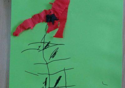 Maki z bibuły Dzień Babci i Dziadka Dzień Matki Dzień Taty Kreatywnie z dzieckiem Marlena Wrońska Prace plastyczne Rośliny Wiosna