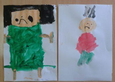 Mój tata (z użyciem farb plakatowych) Dzień Rodziny Dzień Taty Marlena Wrońska Postacie (Prace plastyczne) Prace plastyczne Prace plastyczne (Dzień Taty)