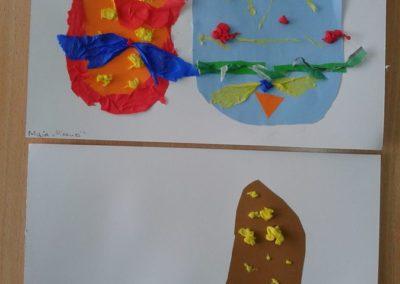 Pisanki - wycinanka Marlena Wrońska Prace plastyczne Prace plastyczne (Wielkanoc) Wielkanoc