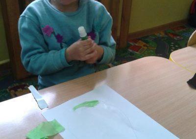 Pisanki - wyklejanka Marlena Wrońska Prace plastyczne Prace plastyczne (Wielkanoc) Wielkanoc