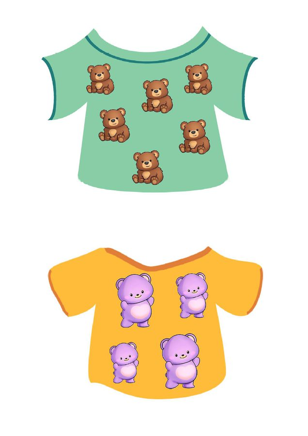 Dzień Misia. Misiowe koszulki Dzień Niedźwiedzia Dzień Pluszowego Misia Joanna Gadomska Pomoce dydaktyczne