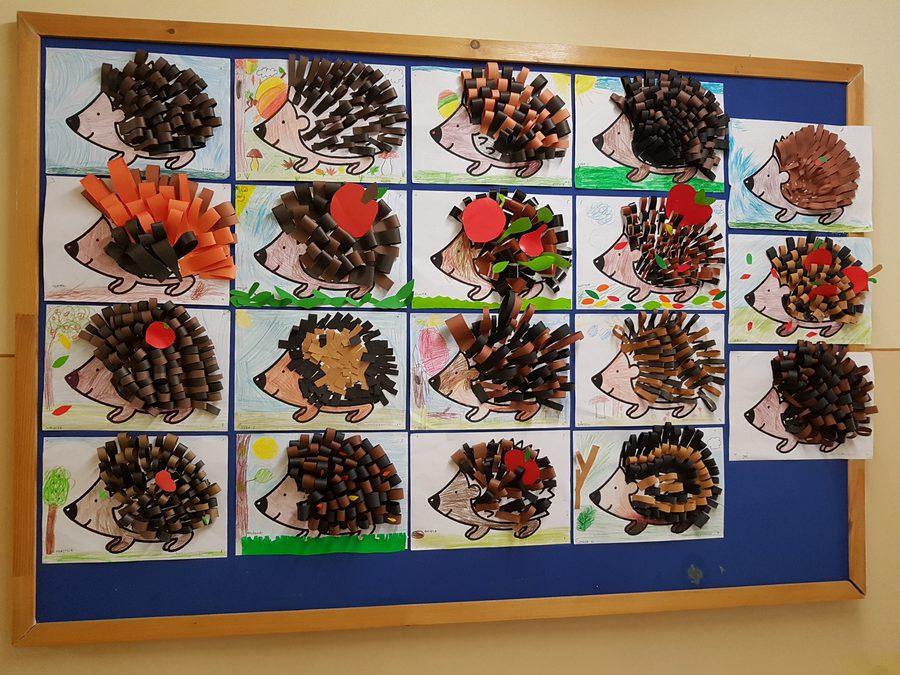 Jeżyki Daria Kur Dzień Jeża Jesień Jesień (Prace plastyczne) Lato Prace plastyczne Prace plastyczne (Dzień Jeża) Prace plastyczne (Dzień Zwierząt) Prace plastyczne (Jesień) Światowy Dzień Zwierząt Wiosna (Prace plastyczne) Zwierzęta (Prace plastyczne)