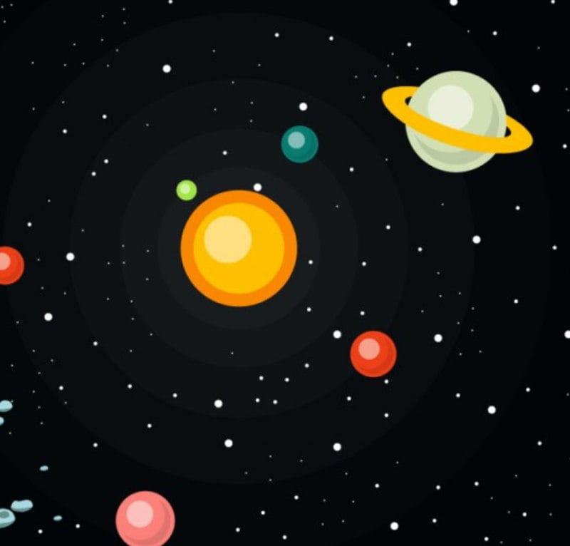 Kolory planet Agata Dziechciarczyk Dzień Lotnictwa i Kosmonautyki Kosmos i planety Wierszyki