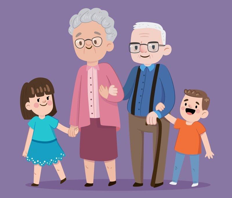Babcia przyjaciel, dziadek kumpel Agata Dziechciarczyk Dzień Babci i Dziadka Dzień Babci i Dziadka Wierszyki