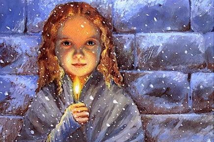 Świąteczny scenariusz z baśniowym motywem – o dziewczynce z zapałkami
