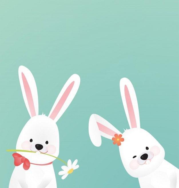 Dwa Zajączki Agata Dziechciarczyk Wielkanoc Wierszyki