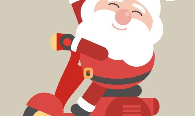 Co Mikołaj robi w lecie?