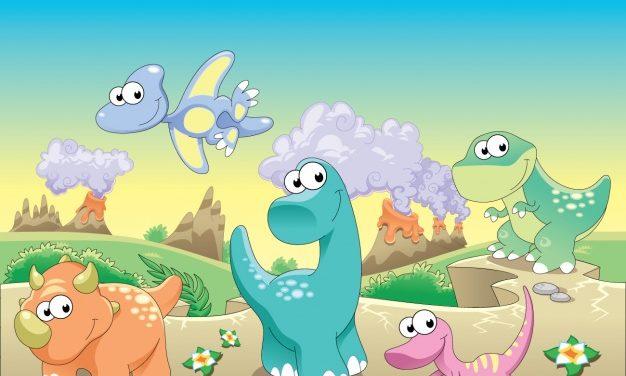 W świecie dinozaurów – zajęcia prowadzone metodą Storyline