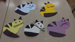 Koty z kształtów