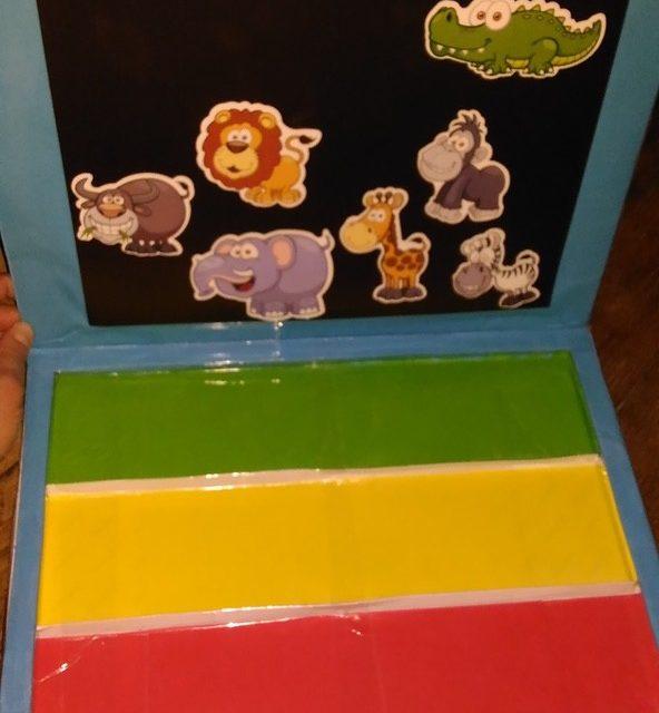 Kreatywne pudełko z opakowania po czekoladkach