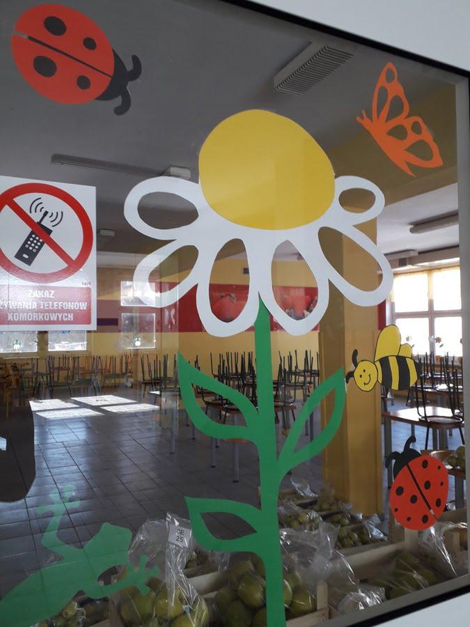 Przykładowa Ozdoba Sali Przedszkola Wiosenna łąka