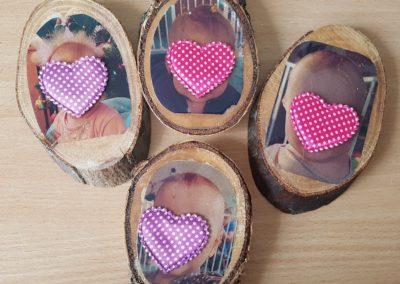 Zdjęcia na drewnie Dominika Kobylak Dzień Babci i Dziadka Dzień Dziecka Dzień Matki Dzień Taty Kreatywnie z dzieckiem Walentynki