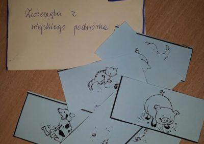 """Gra """"MEMO"""" - wiejskie zwierzeta Kreatywnie z dzieckiem Małgorzata Wojkowska Pomoce dydaktyczne Światowy Dzień Zwierząt"""