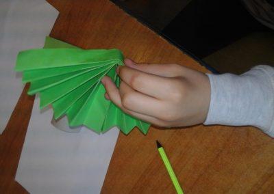 Wiosenny sad Anna Kowalska Kreatywnie z dzieckiem Prace plastyczne