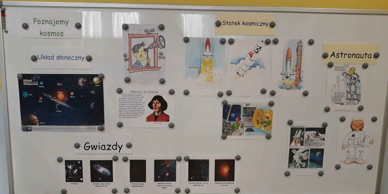 Dekoracja sali – Dzień Kosmosu