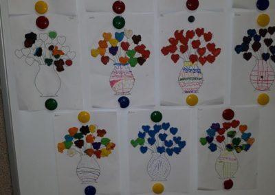 Serduszko dla Mamy i Taty Dzień Matki Dzień Rodziny Dzień Taty Kreatywnie z dzieckiem Małgorzata Wojkowska