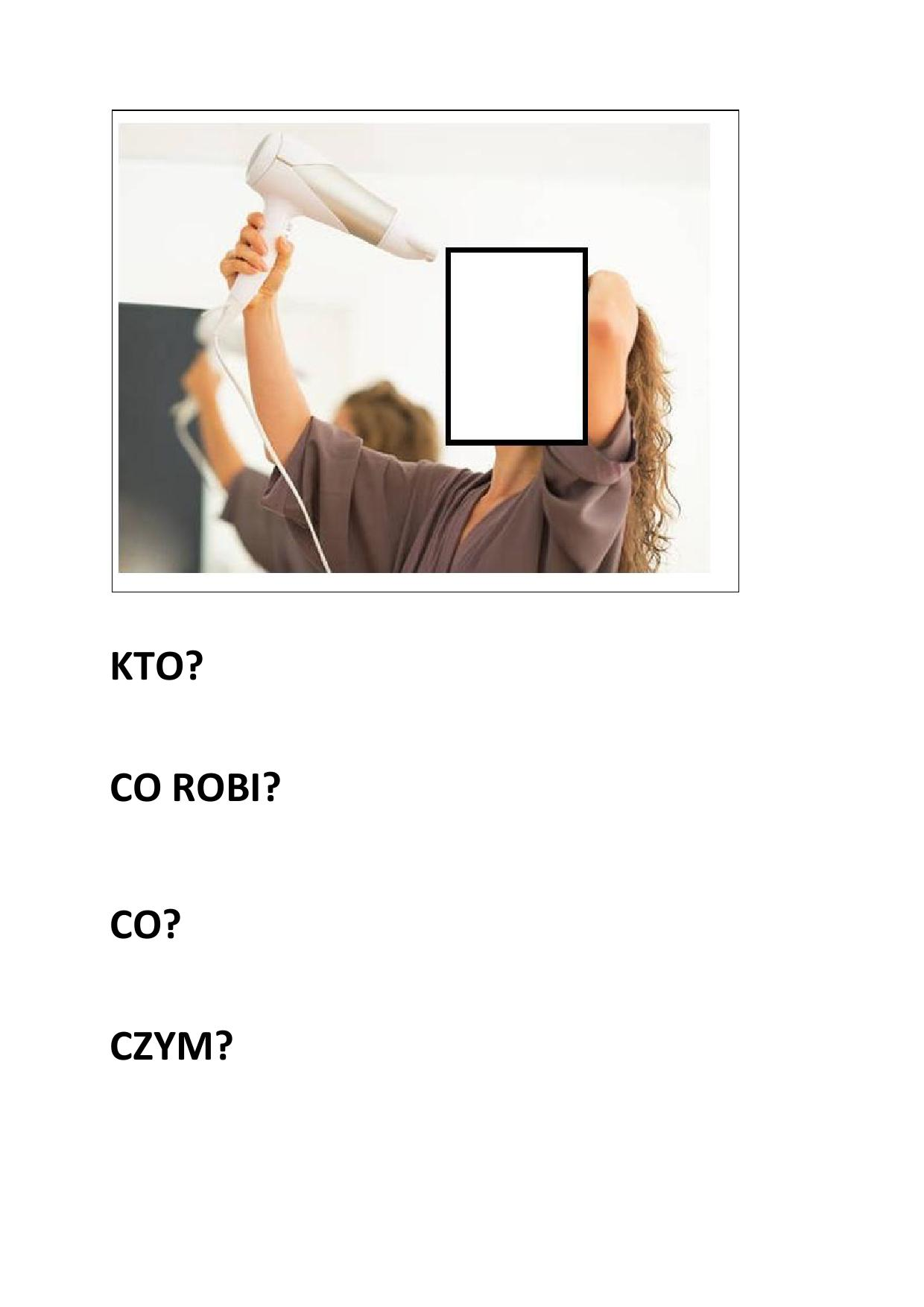 Karty do budowania zdań Katarzyna Kołodziejska Nauka pisania Pomoce dydaktyczne