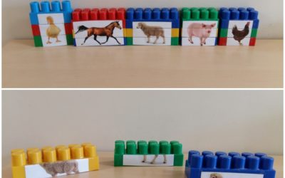 Klockowe puzzle – Zwierzęta ze wsi