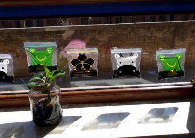 Praca grupowa - Zasadziliśmy fasolę Małgorzata Wojkowska Prace plastyczne Wiosna Wiosna (Prace plastyczne)
