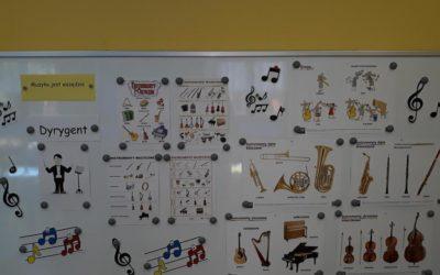 Dekoracja sali na Dzień Muzyki