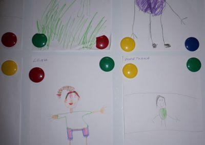 Mój portret Kreatywnie z dzieckiem Małgorzata Wojkowska Postacie