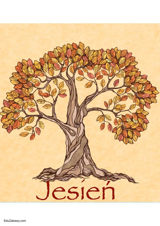 Pory roku - plakaty pionowe Jesień Pory roku - plakaty Święta i pory roku Wrzesień