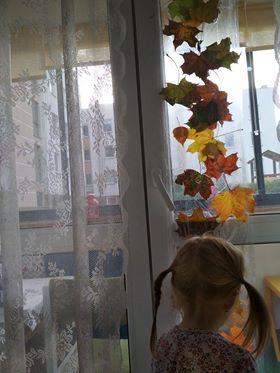 Jesienny dywanik Aneta Grądzka-Rudziak Jesień Kreatywnie z dzieckiem