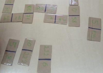 Domino kształty i domino liczby i cyfry Izabela Kowalska Prace plastyczne