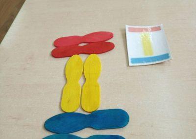 Zabawy patyczkami kreatywnymi Izabela Kowalska Prace plastyczne