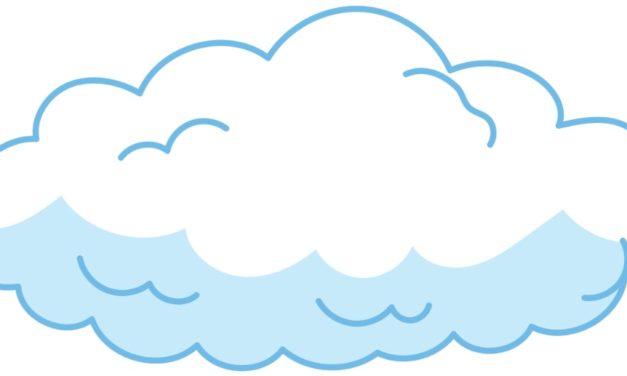 Dekoracje: Chmury (10 szablonów)