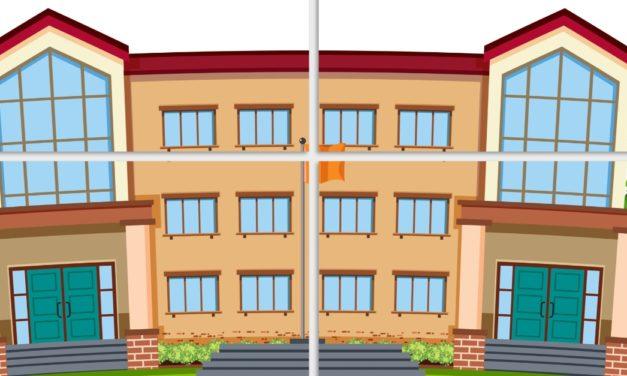 Dekoracje XXL: szkoła / przedszkole (9 szablonów)