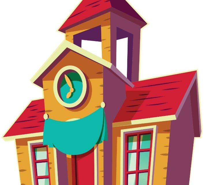 Dekoracje: szkoła / przedszkole (9 szablonów)