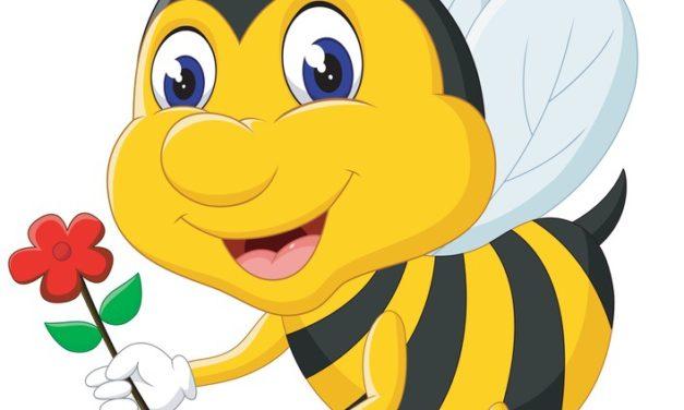 Dekoracje: Pszczółki (10 szablonów)