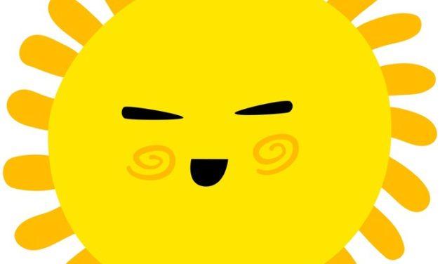 Dekoracje: Słońce (10 szablonów)