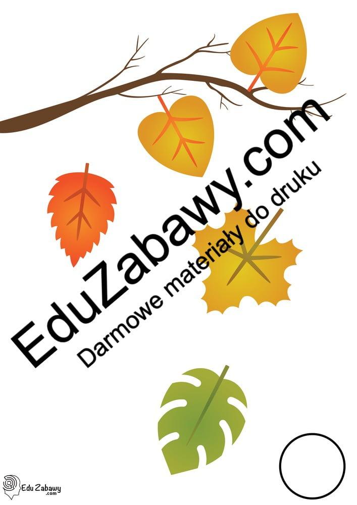 Jesień: Nauka liczenia 0-10 (10 kart pracy) Karty pracy Karty pracy (Jesień) Nauka liczenia